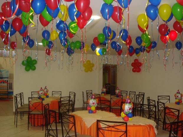 Inspire sua Festa u00ae Blog Festa e Maternidade -> Decoração De Festa Com Balões No Teto