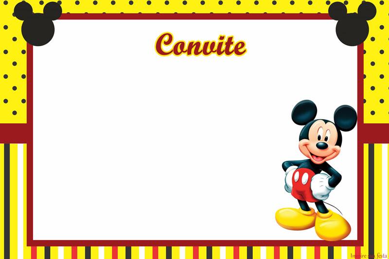 Ideias para decorar festa Mickey Mouse