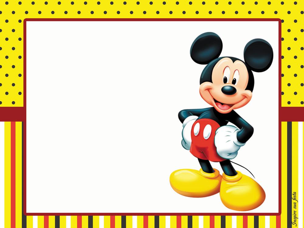 Mickey Mouse Kit Festa Infantil Gr 225 Tis Para Imprimir