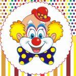 Circo Kit festa infantil grátis para imprimir