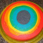 Como fazer Bolo Arco Íris – Receita e passo a passo