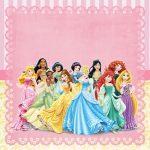 Princesas Disney Kit festa infantil grátis para imprimir