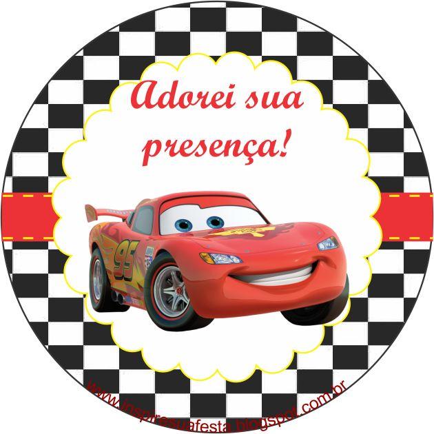 Armario De Quarto Casal ~ Carros Disney u2013 Kit festa infantil grátis para imprimir u2013 Inspire sua Festa