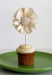 Como fazer Topper para cupcake de tecido – Passo a passo