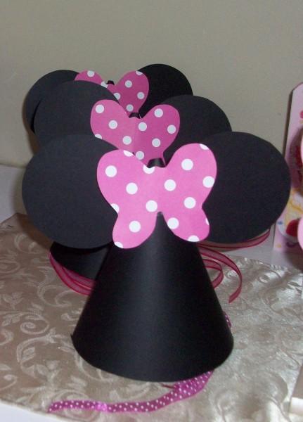 Como fazer Chapéu de aniversário da Minnie – Passo a passo f754d5d8bca