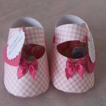 Como fazer Sapatinho de bebê – passo a passo