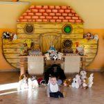 Decoração Festa Infantil Arca de Noé – Renan 1 ano