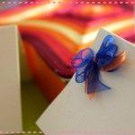 Pequenos laços para presentes – PAP