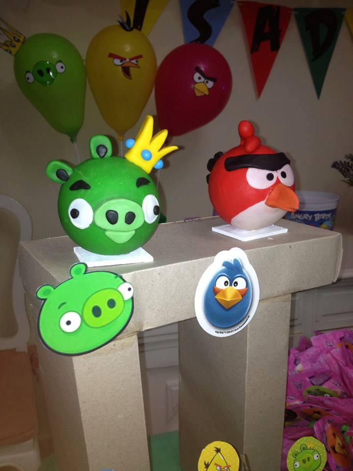 Angry Birds Decoração