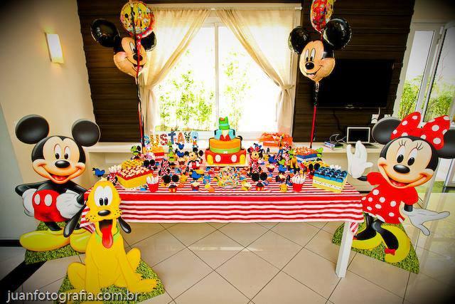 Decoração Festa Infantil Turma do Mickey