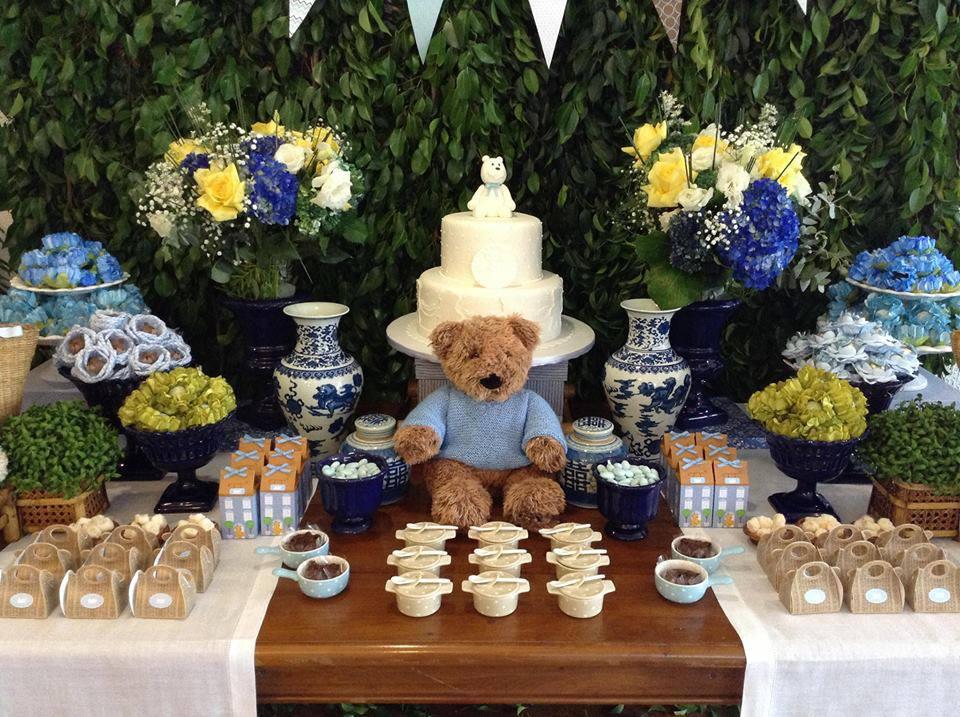 Decoração Chá de bebê Rústico – Festa da leitora Ana Rita Bibá