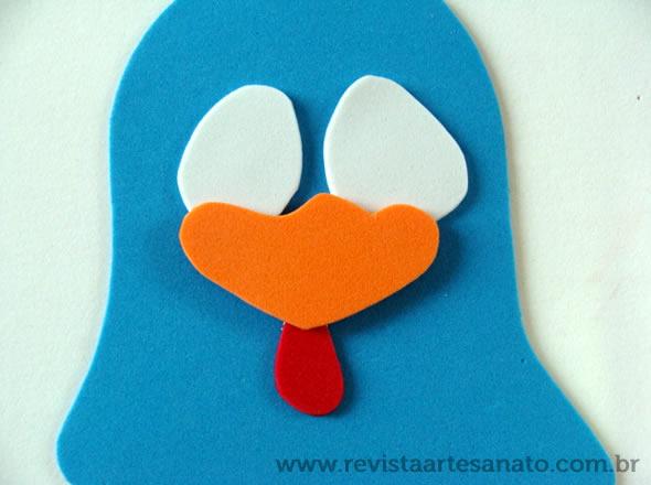 centro de mesa lembrancinha galinha pintadinha eva 5