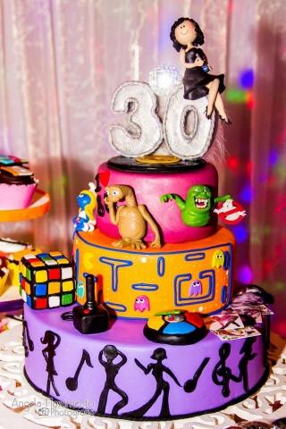 Decorao de festa de repente 30 anos 80 inspire sua festa 34 altavistaventures Gallery
