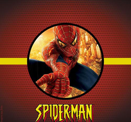 Baton garoto Homem Aranha