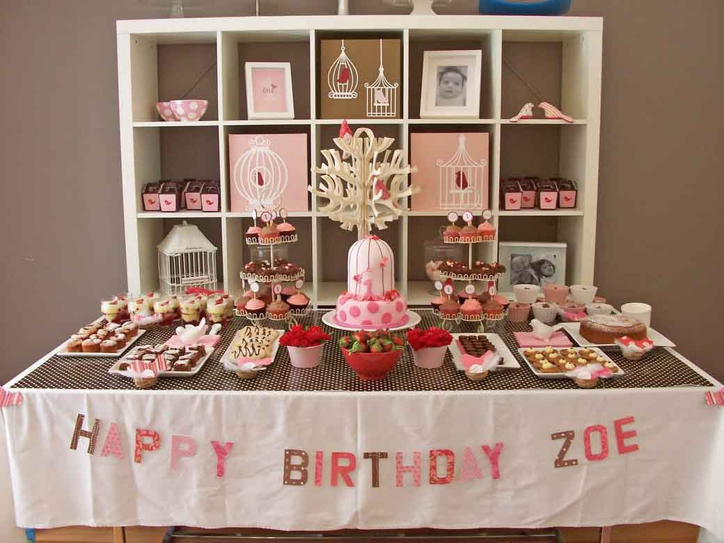 DIY Birthday Snack And Sweets Corner Decor. Subtle Circus. Image Credit:  Happybeancoffee
