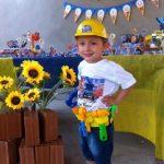 Decoração Festa Infantil Bob o Construtor – Guilherme Henrique 3 anos