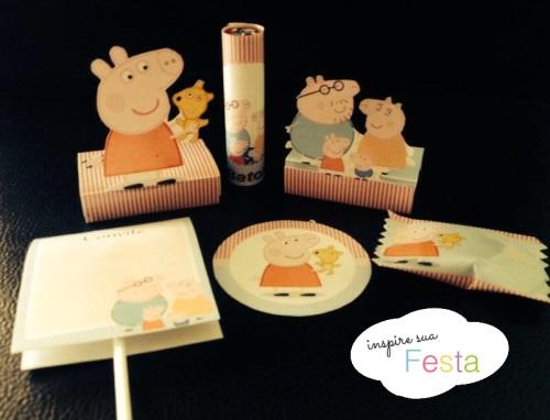 Personalizados Peppa Pig Inspire sua Festa 6