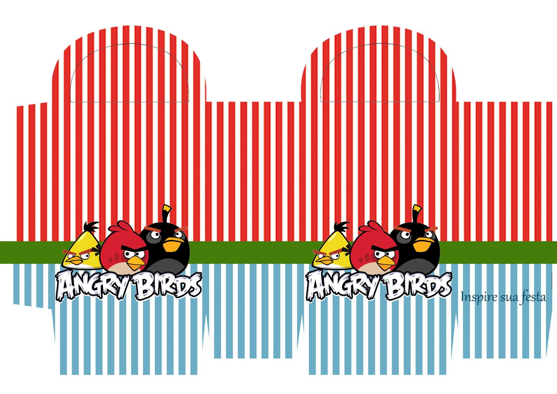 Sacolinha para guloseimas Angry Birds