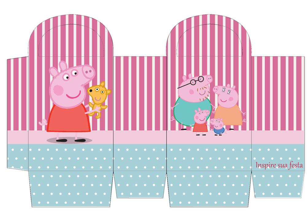Sacolinha personalizada Peppa Pig