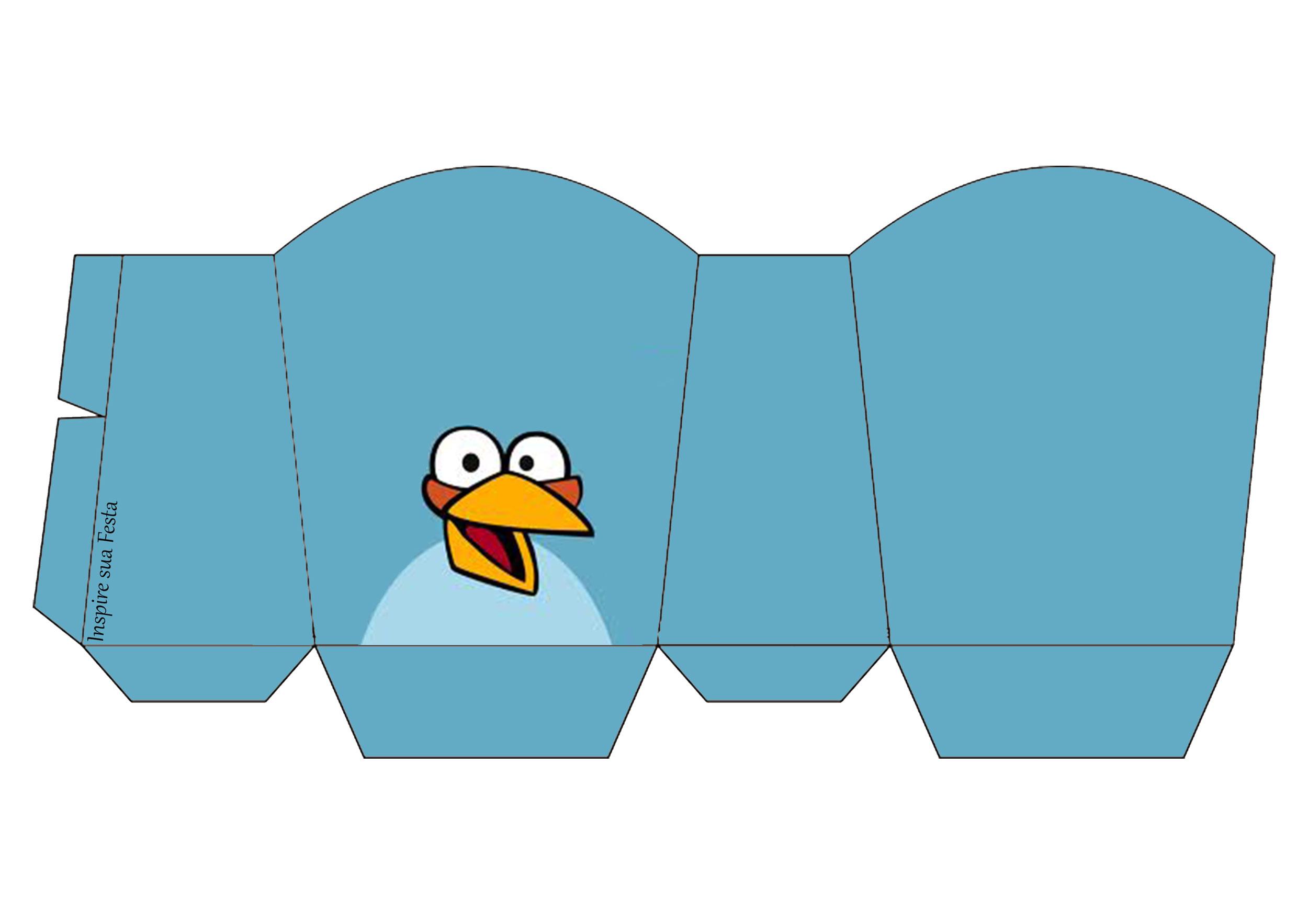 Caixa para guloseimas Angry Birds