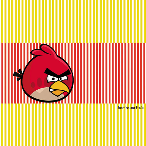 Bala Personalizada Angry Birds