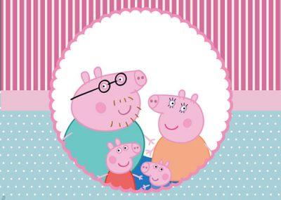 Rótulo Baton Peppa Pig