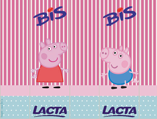 Rótulo Bis Peppa Pig