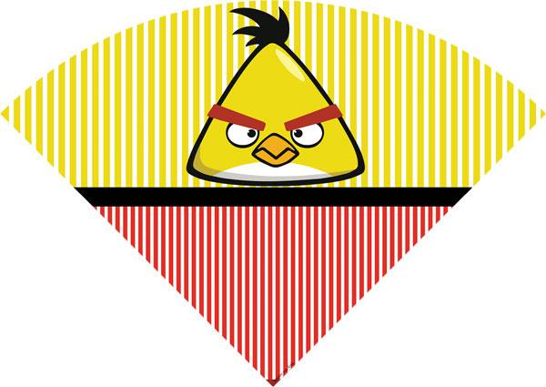 Cone de guloseimas Angry Birds