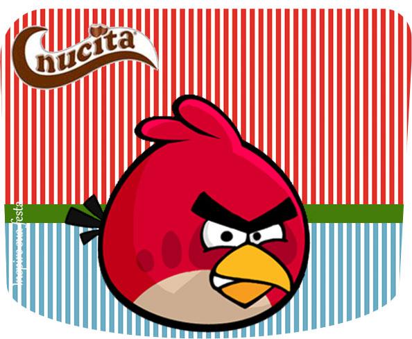 Creme nucita Angry Birds