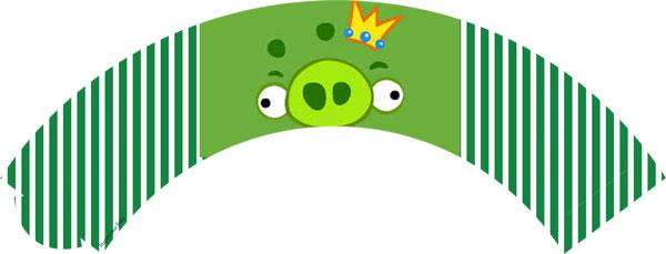 Saia para cupcakes Angry Birds