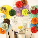 Como fazer leques de papel para decorar festas – Passo a passo