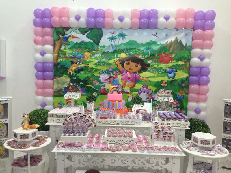 decoracao-provencal-dora-aventureira-festa-infantil-dora