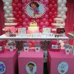 Decoração de festa da Dora Aventureira – Sugestões