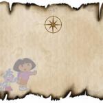 Como fazer Convite Mapa da Dora Aventureira