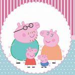 Kit festa Grátis para imprimir Peppa Pig