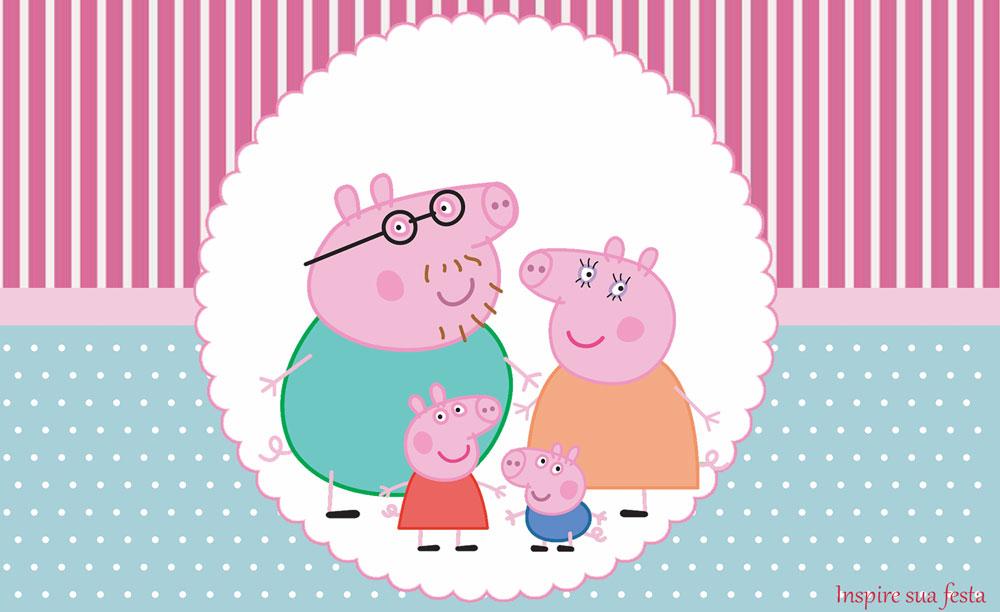 Bisnaga de Brigadeiro Peppa Pig