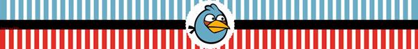Rótulo papinha Angry Birds