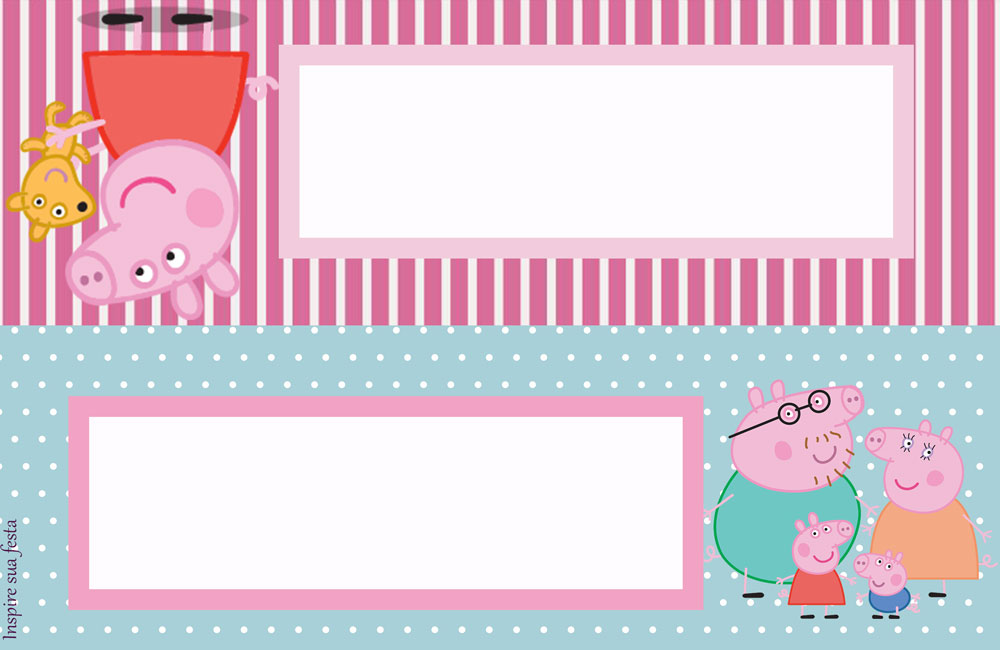 Placa de mesa Peppa Pig
