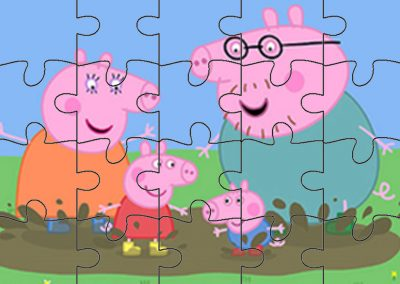 quebra-cabeca Peppa Pig