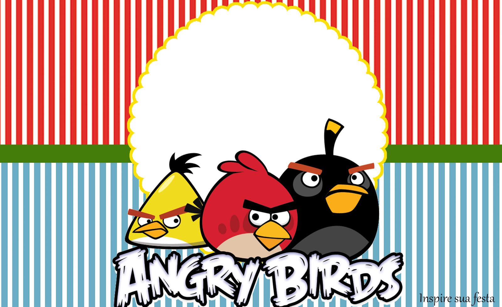 Rótulo lata de leite Angry Birds