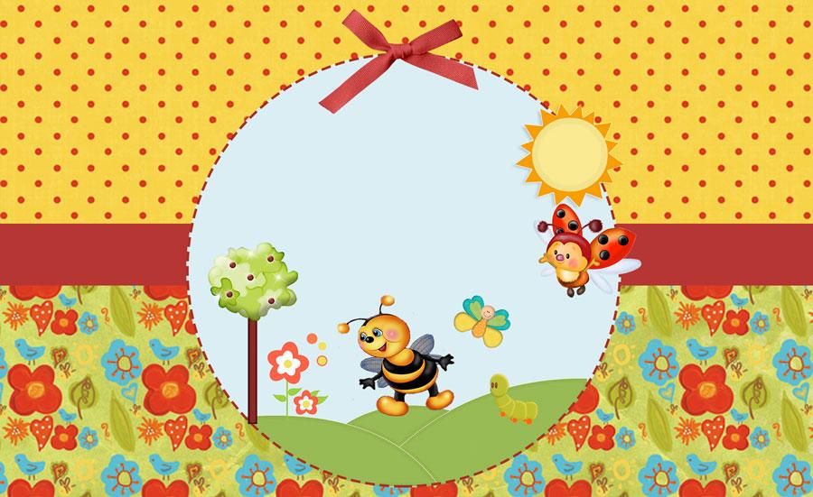 Jardim Encantado – Kit festa infantil grátis para imprimir
