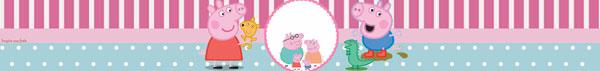 Rótulo papinha nestle Peppa Pig