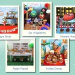 Temas de festas infantis mais procurados
