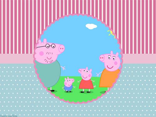 Rótulo Tubete Peppa Pig