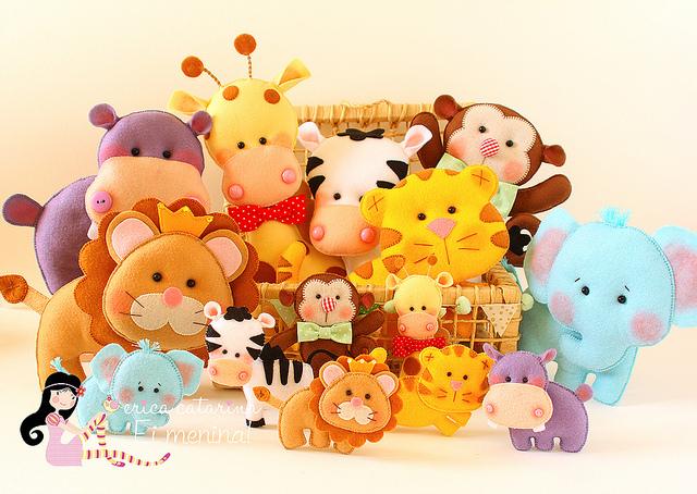 Moldes de baby safari - Imagui