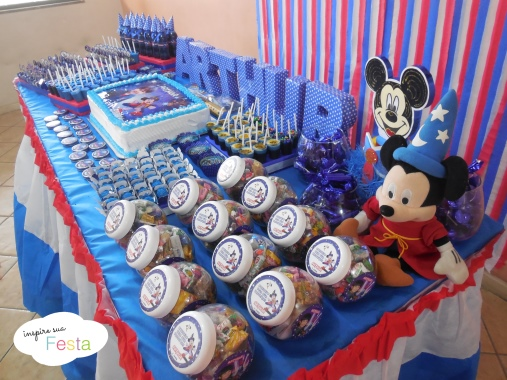 Decoracao Mickey Feiticeiro Mickey mago 14