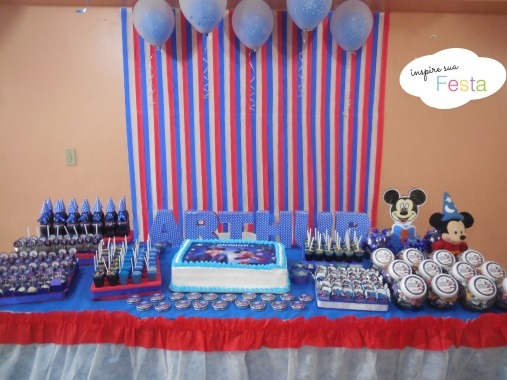 Decoracao Mickey Feiticeiro Mickey mago 15