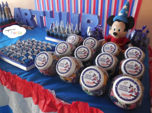 Decoracao Mickey Feiticeiro Mickey mago 3