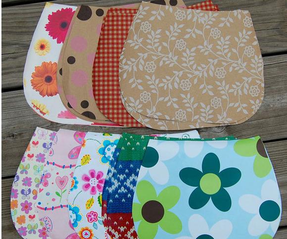 Bolsa De Papelão E Tecido Passo A Passo : Como fazer bolsinha de papel?o lembrancinha inspire