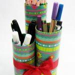 Como fazer um Porta Lápis de Tubo de Papelão